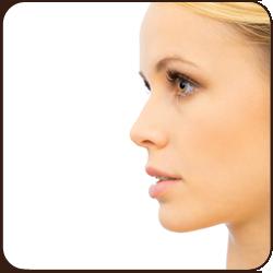 nose surgery patient