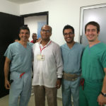 Doctors at the Alegria Foundation