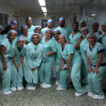 Doctors and staff of Alegria Foundation