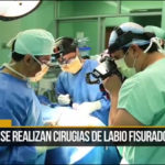 doctors performing surgery for the Alegria Foundation