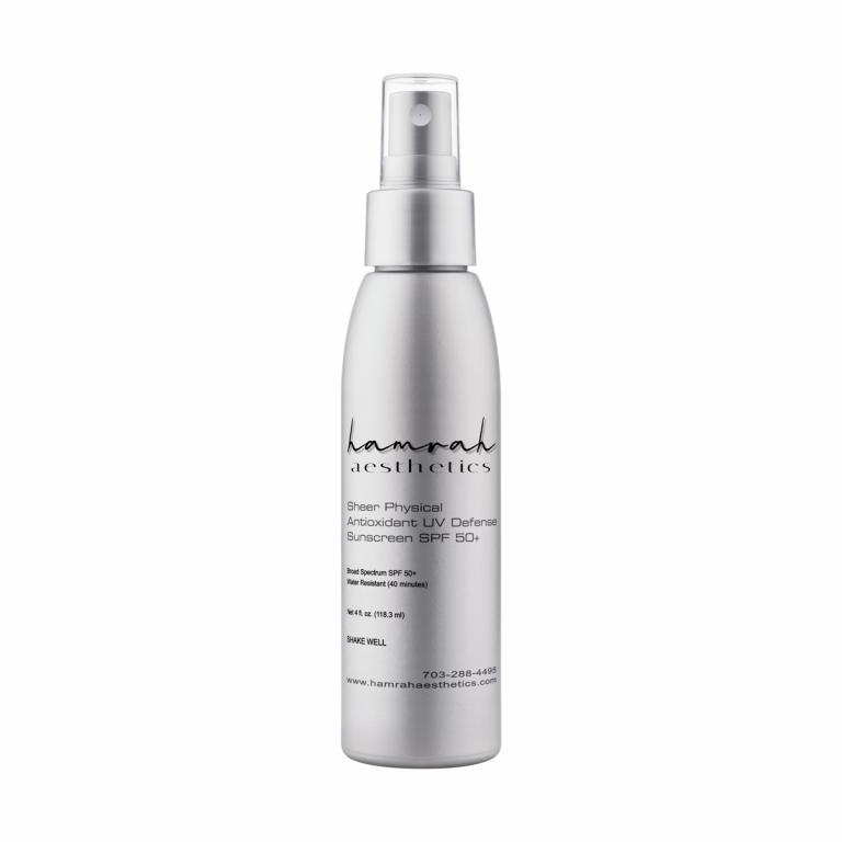Sheer Physical Antioxidant Sunscreen SPF50
